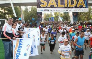 Encabeza Tony Gali el Maratón Internacional de Puebla 2018